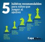 5 hábitos recomendables para los niños que juegan al ajedrez